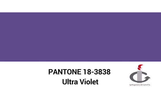 Color Pantone 2018 #Ultra violet