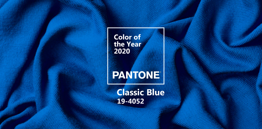 Pantone Color of the Year 2020 (Classic Blue 19-4052)
